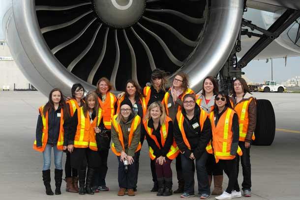 Air Canada Field Trip