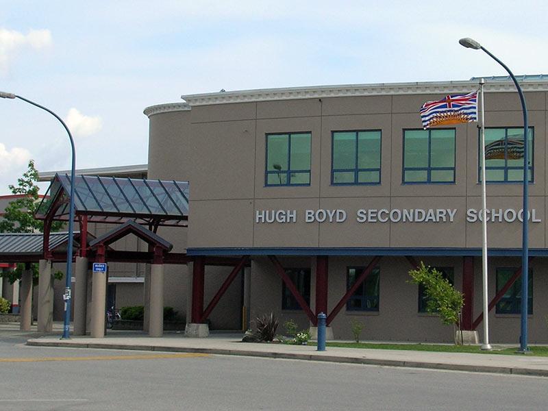 BC省列治文高中Richmond