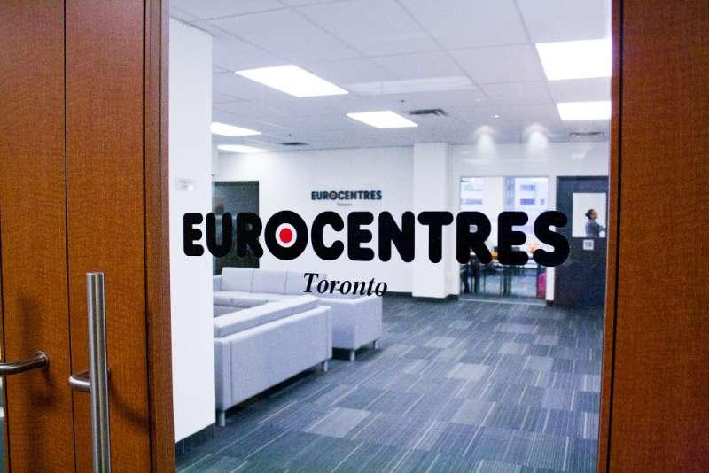 Eurocentres語言學校-休息區